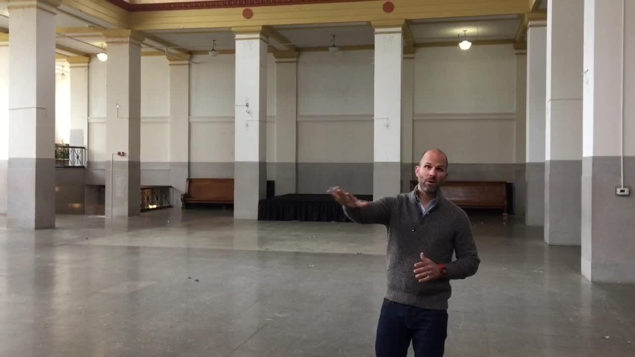 What Central Station Hotel Will Be Like:  The Ballroom