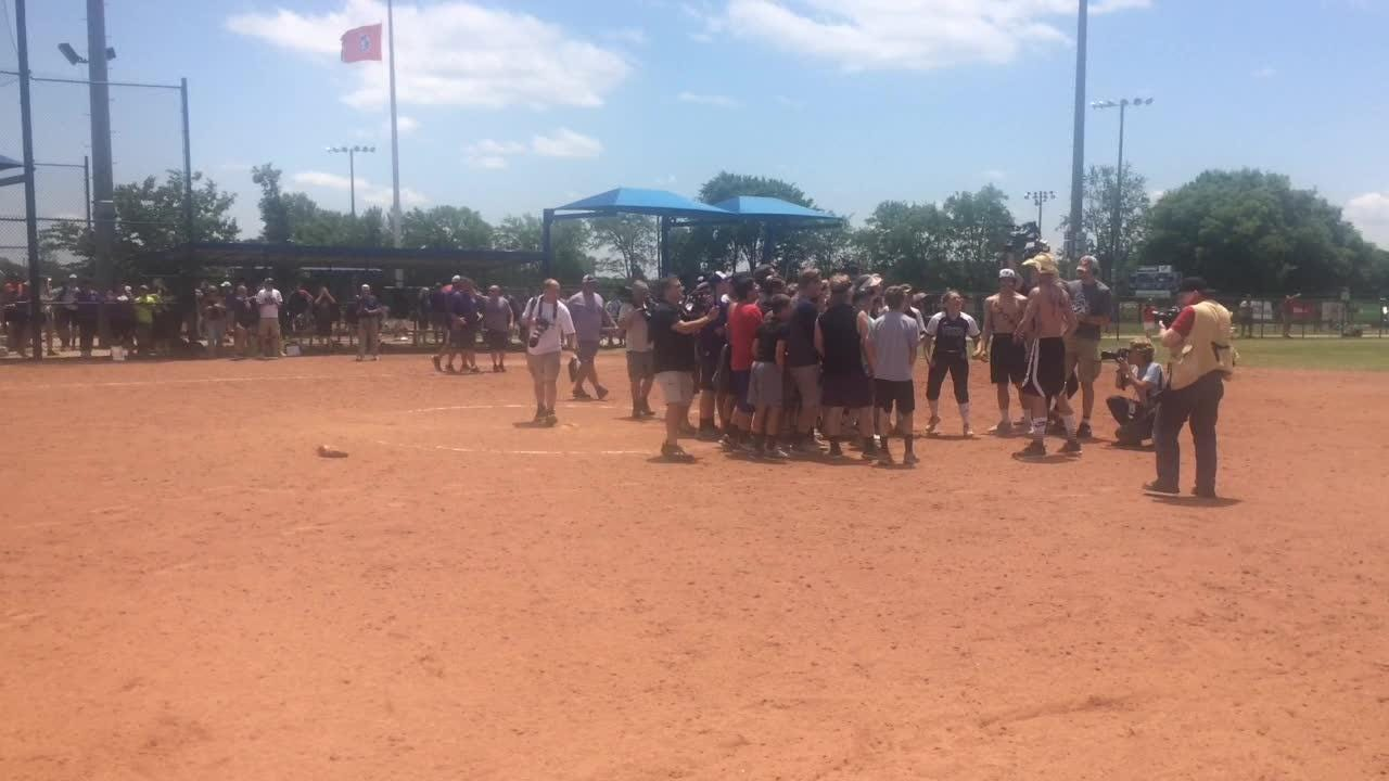 The King's Academy celebrates softball title