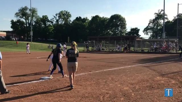WATCH: Brentwood softball downs Dickson County to take regional crown.