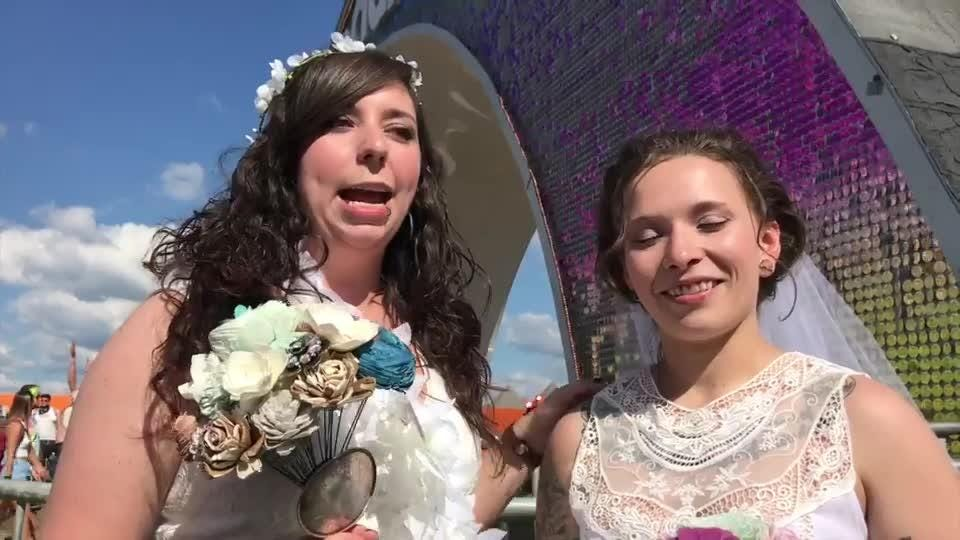 Bonnaroo Wedding