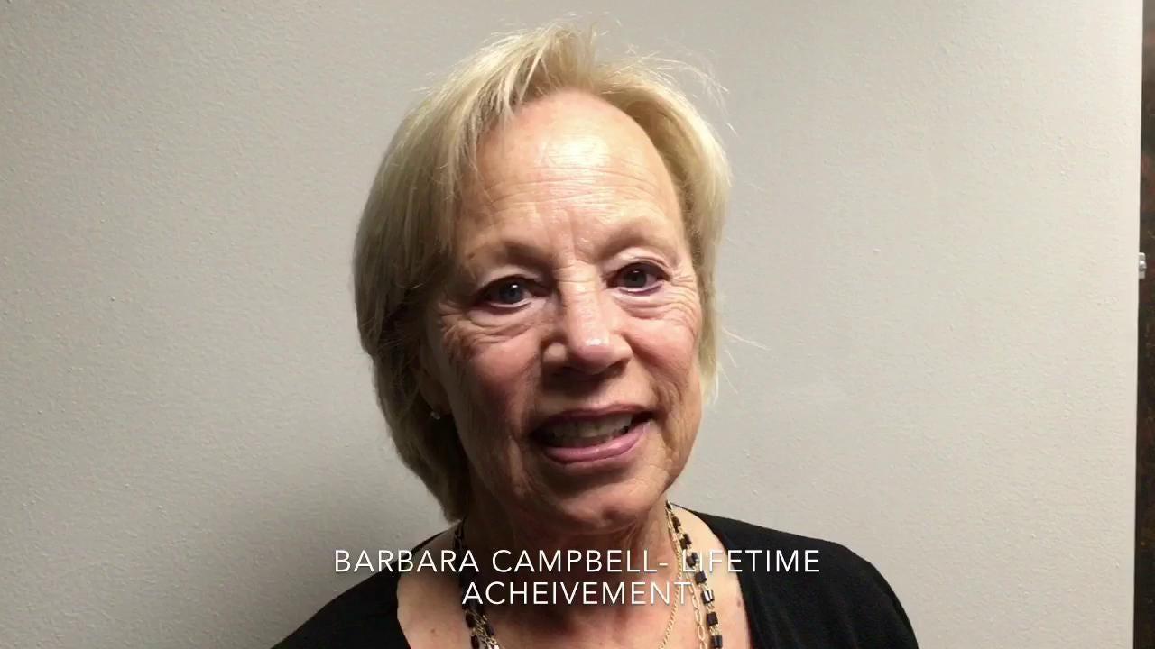 Watch: Brentwood volleyball coach Barbara Campbell receives Lifetime Achievement Award
