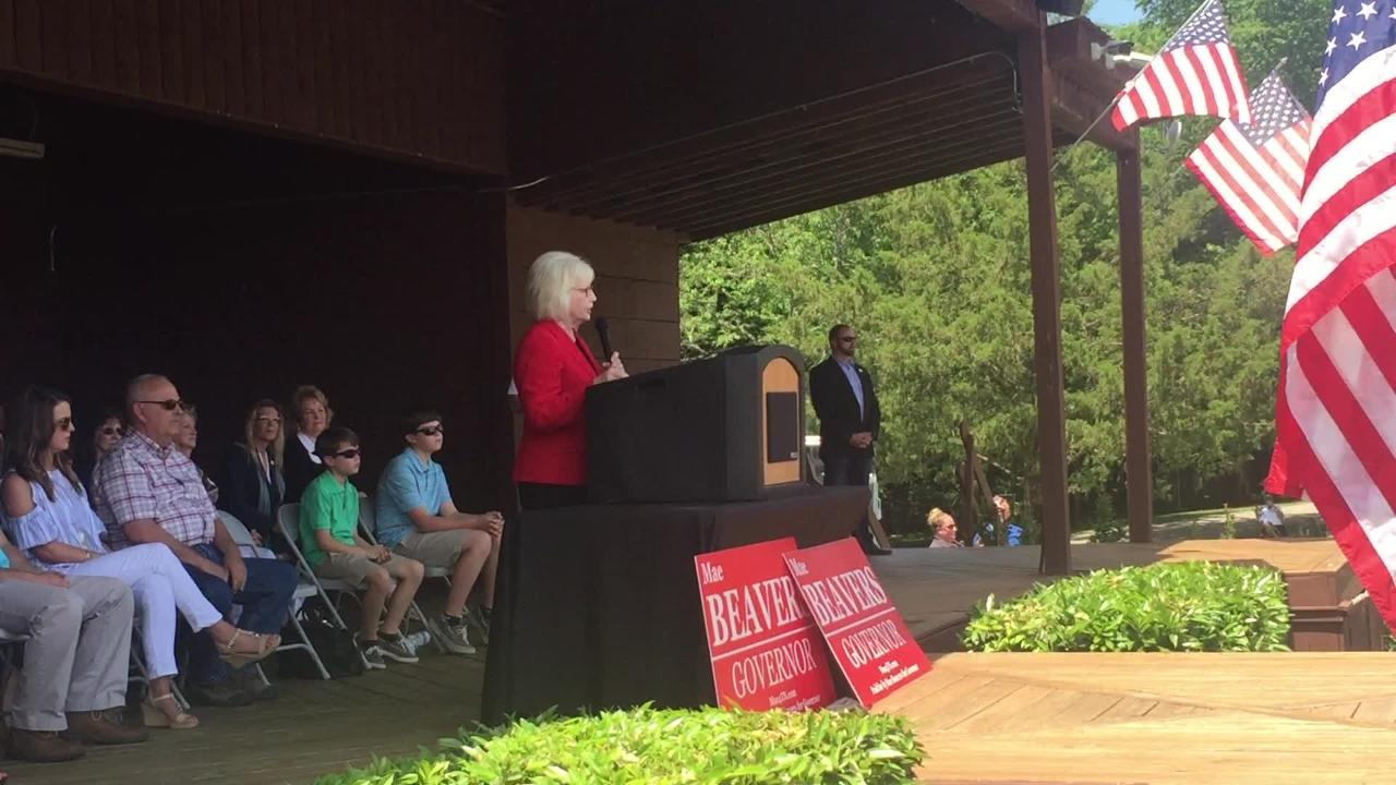 State Sen. Mae Beavers announces run for governor of Tennessee