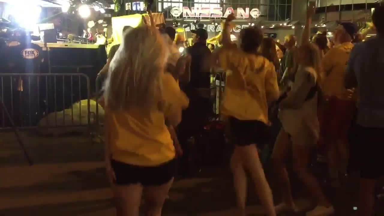 Predators fans react to Game 4 win