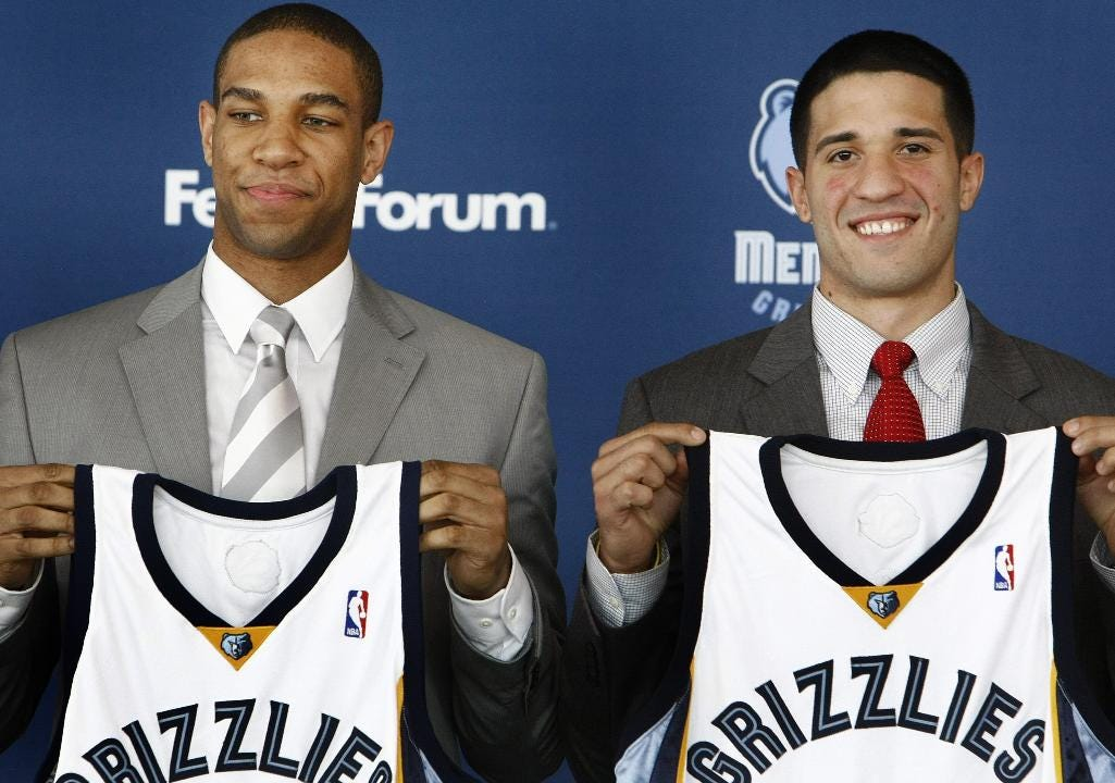How did the Grizzlies handle the 2010 NBA draft
