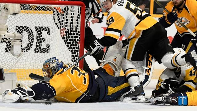 Predators tie the series with another win at home