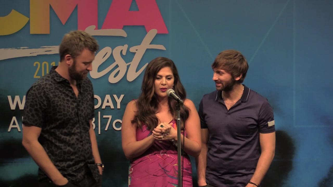 CMA Fest 2017: Lady Antebellum discusses emergency plane landing