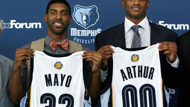 The Grizzlies get the 2008 draft pick right, then trade it away