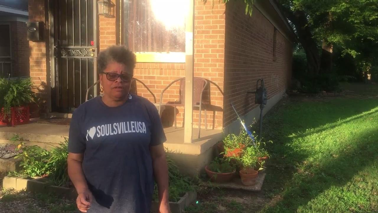 Carolyn Cleveland, secretary of the Soulsville Neighborhood Association, is on the front line in fighting crime and blight in her South Memphis neighborhood.