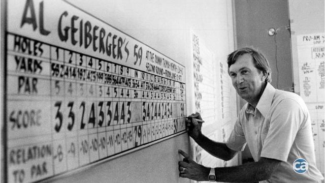 Al Geiberger 'Mr. 59'