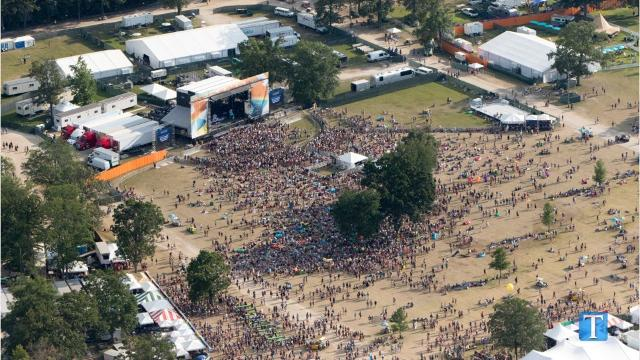 See what Bonnaroo looks like from the air