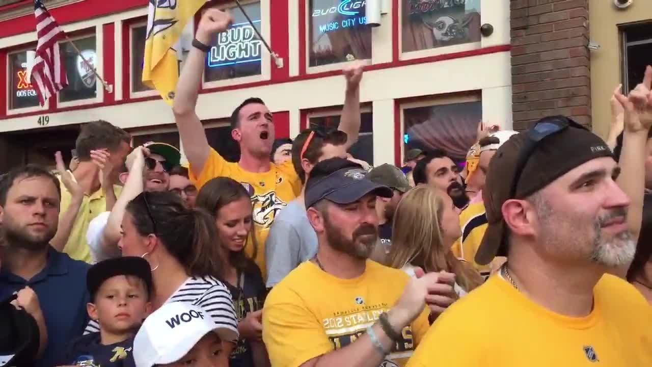 Predators fans react as Pekka Rinne is announced in starting lineup