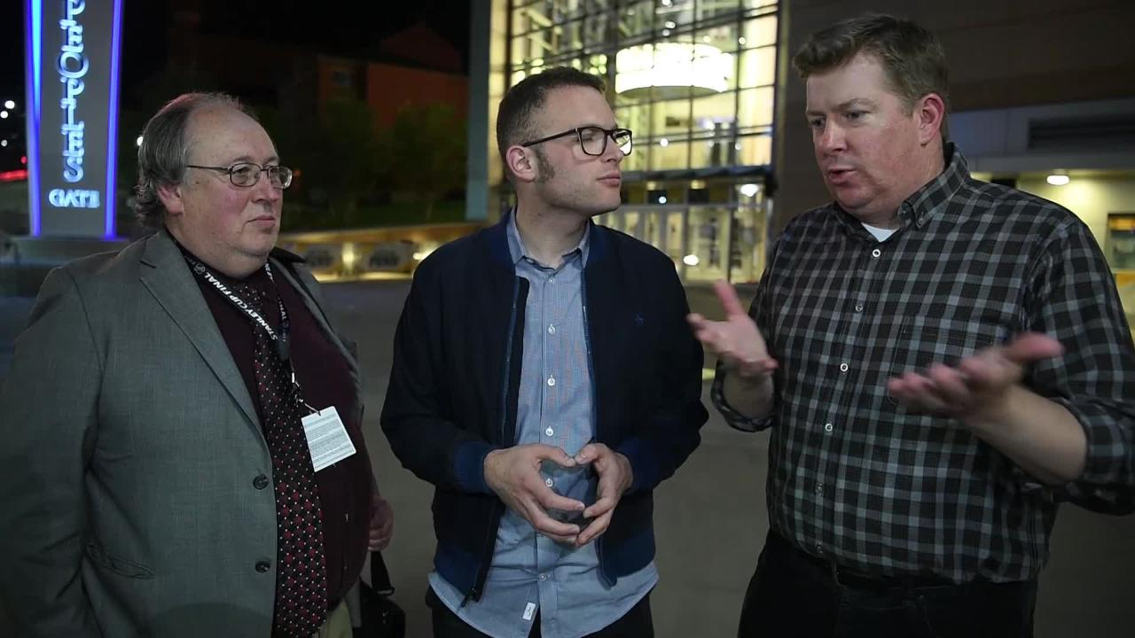 Kevin Allen, Adam Vingan and Joe Rexrode analyze game two of the Stanley Cup Final