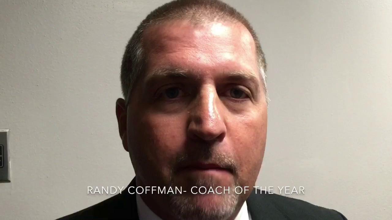 Watch: Riverdale girls basketball coach Randy Coffman named Coach of the Year