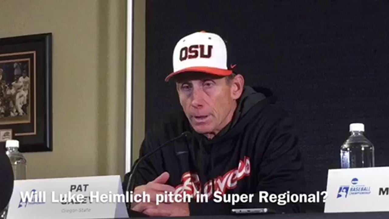 Will Oregon State pitcher play after past molestation uncovered?