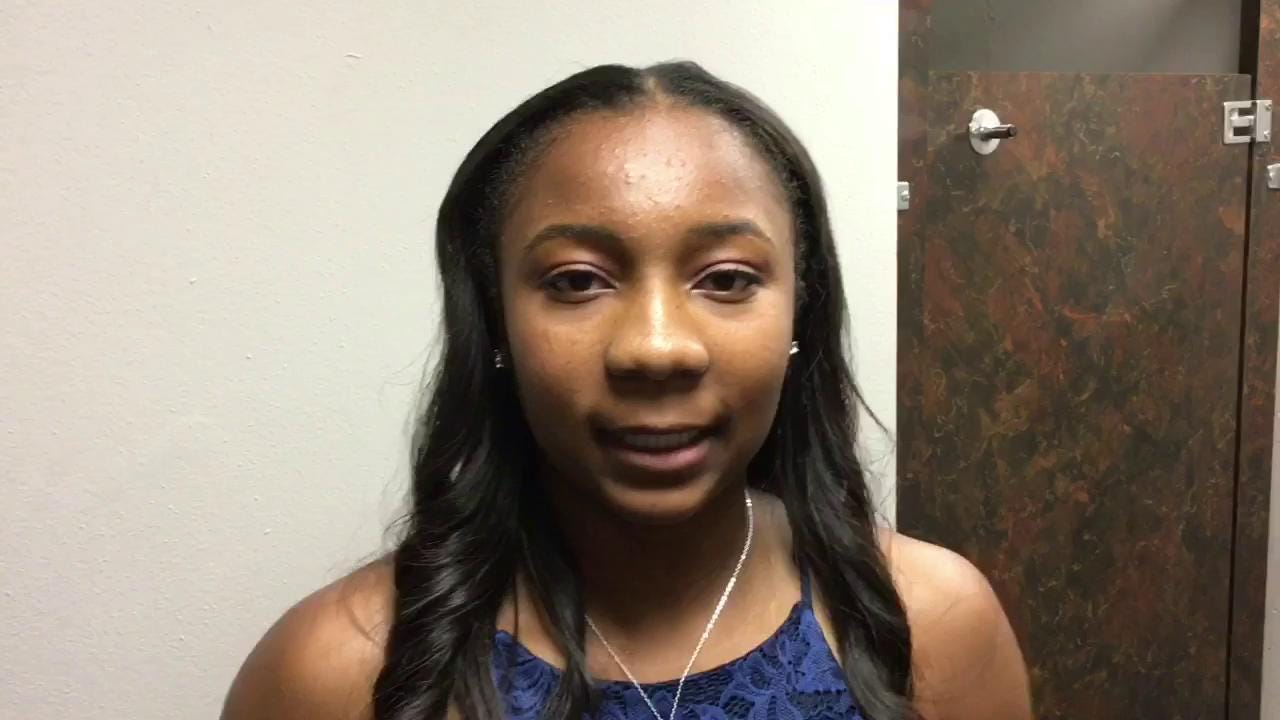 Watch: Anastasia Hayes named Girls Basketball Player of the Year