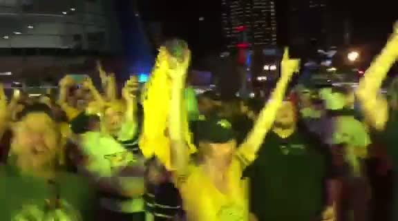 Predators fans react to the Nashville Predators first Stanley Cup Final win