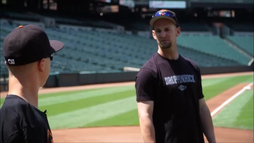 Watch: Luke Terry meets the Orioles