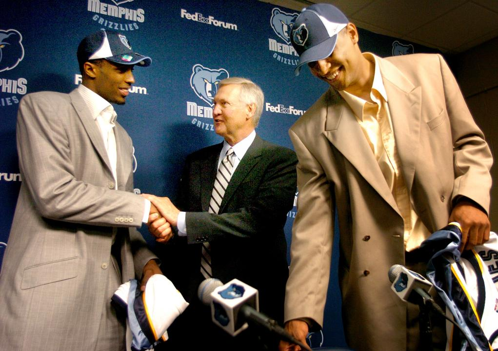 The lore behind the Memphis Grizzlies 2005 NBA draft