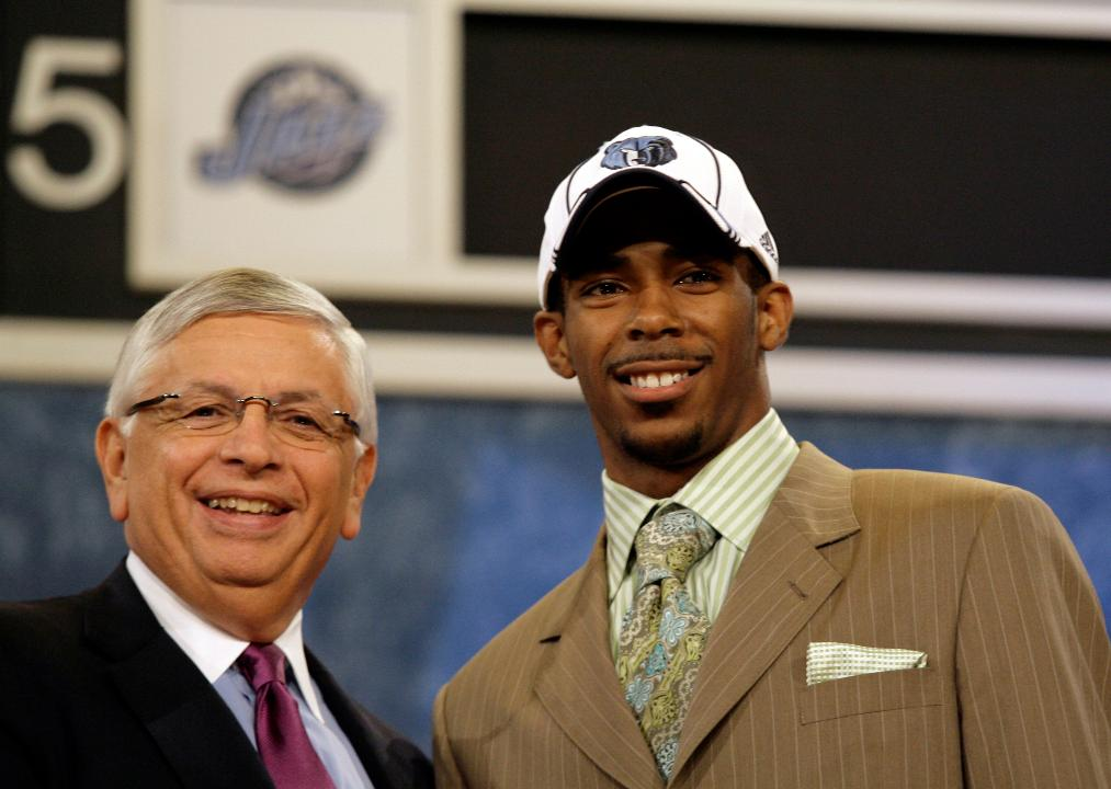 Is the 2007 draft a defining moment for the Memphis Grizzlies?