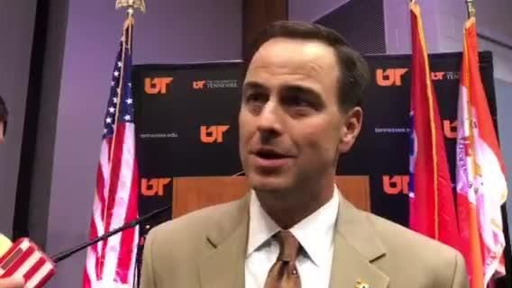 John Currie 'excited' about Phillip Fulmer hiring