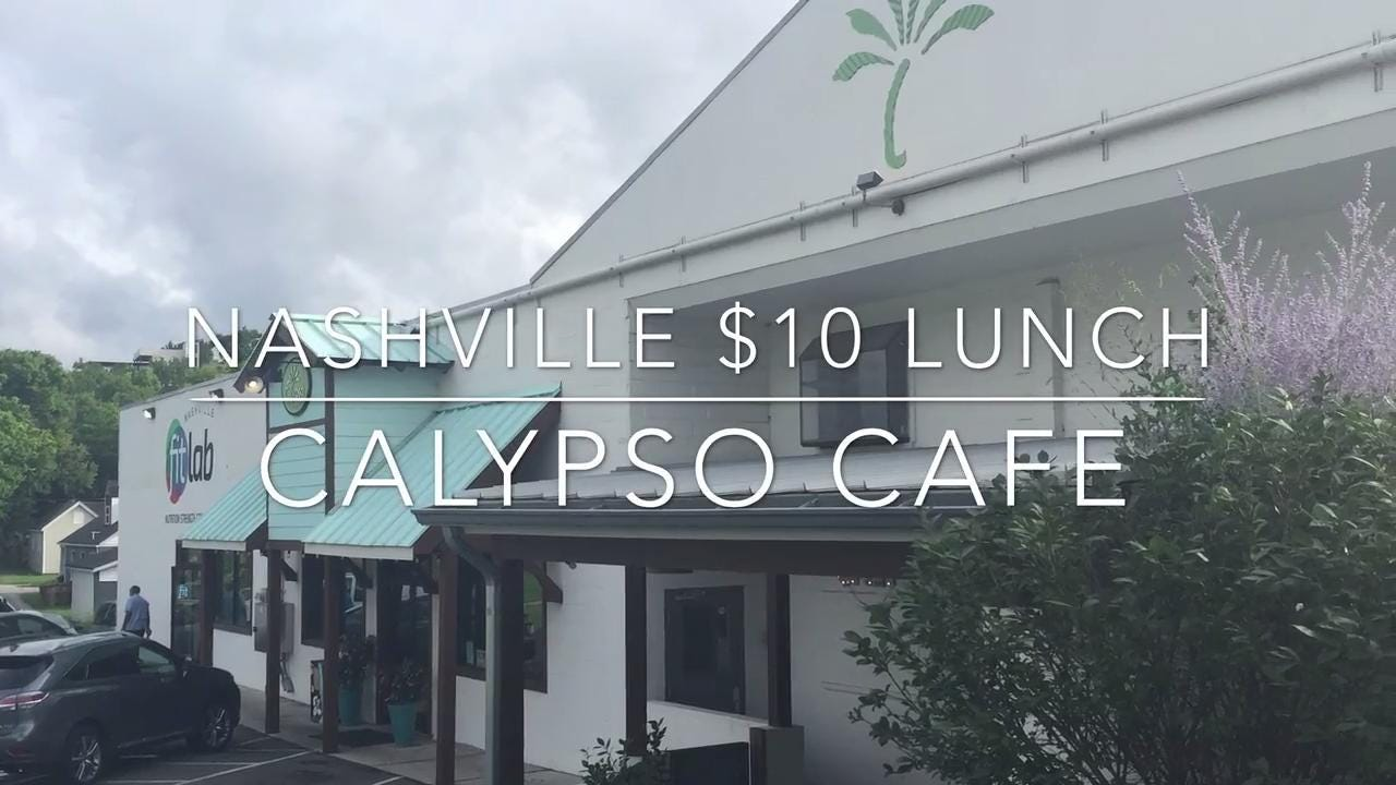 Nashville $10 lunch: Calypso Cafe on Charlotte Avenue