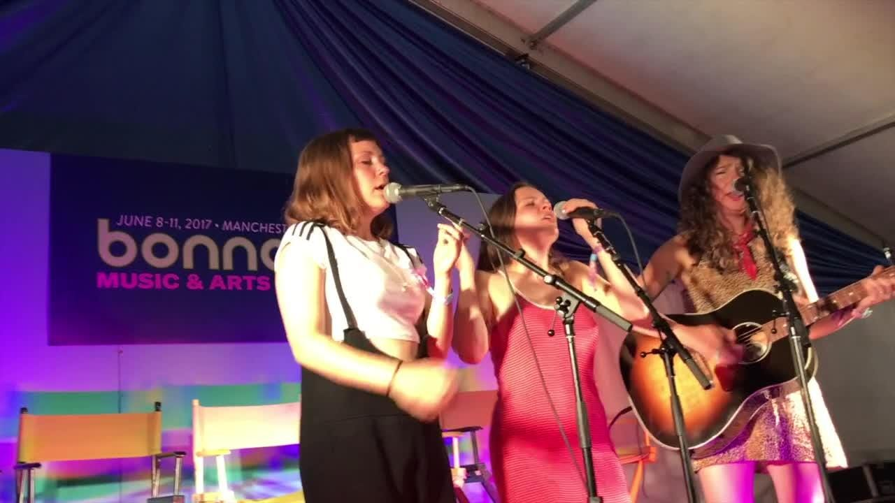 Sisters in harmony: Joseph at Bonnarroo