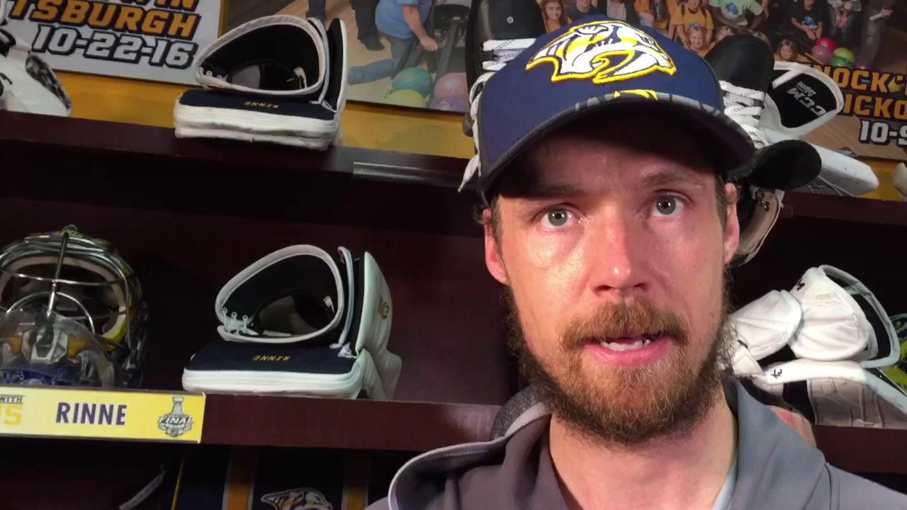 Pekka Rinne  Predators losing Stanley Cup Final  just feels wrong  e6adba12291