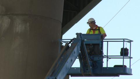 I-495 columns tilted, bridge closing indefinitely