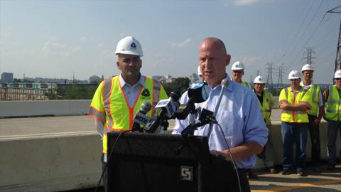 Markell remarks about I-495 bridge reopening