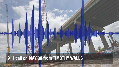 NCCo releases second 911 call about I-495 bridge