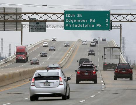 All lanes of I-495 bridge now open