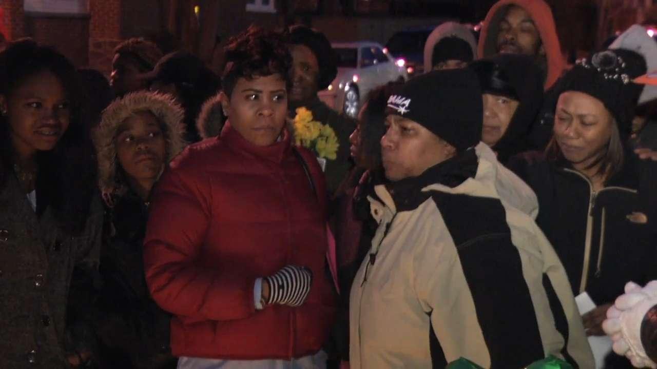 Vigil held for Wilmington slaying victim