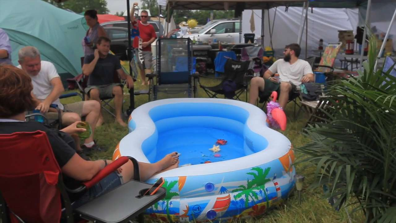 Touring Firefly's ultimate campsite