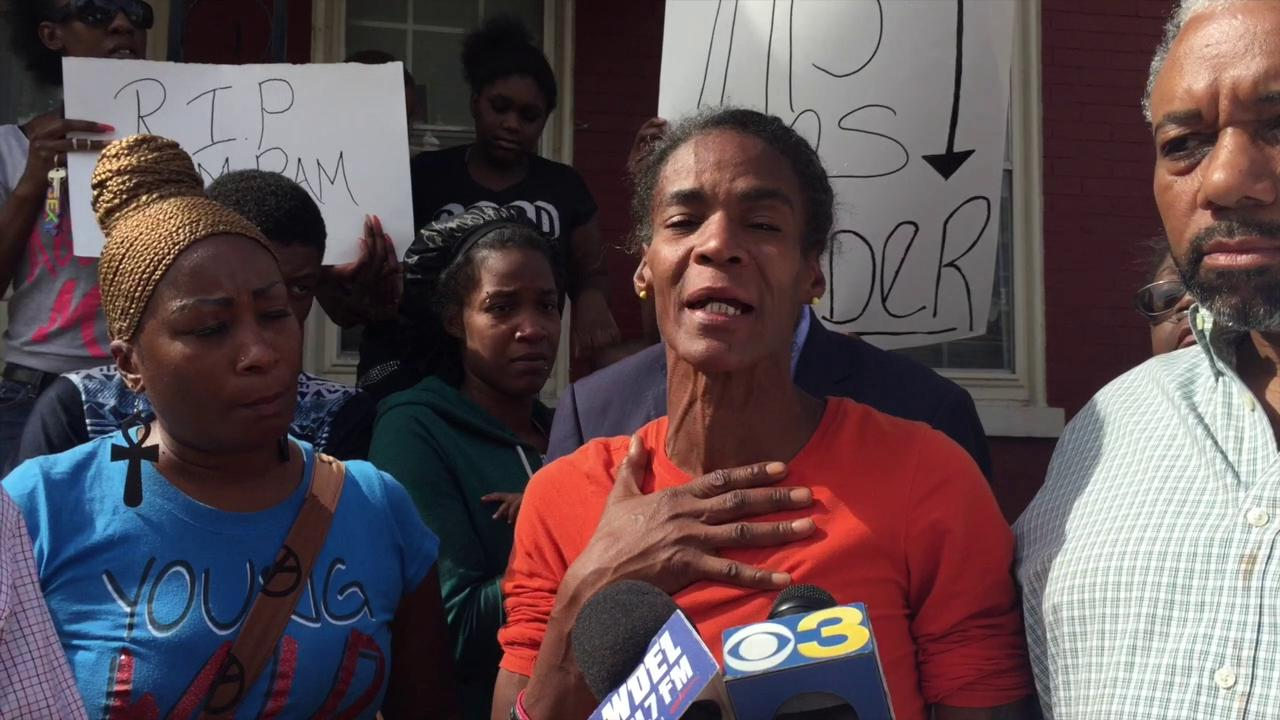 Mother of man shot by police reacts to son's death