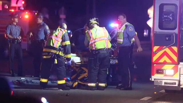 One pedestrian killed, another hurt in crash near New Castle