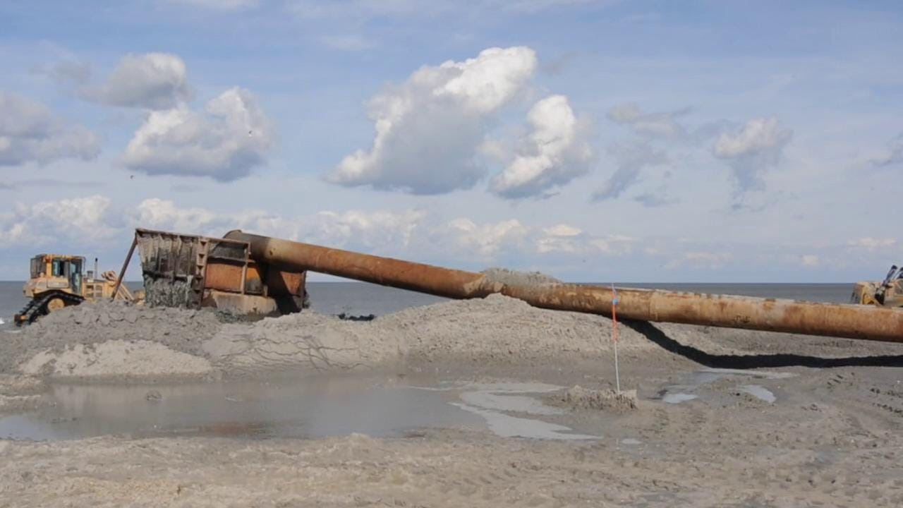 Beach Replenishment Changing Delaware Shoreline