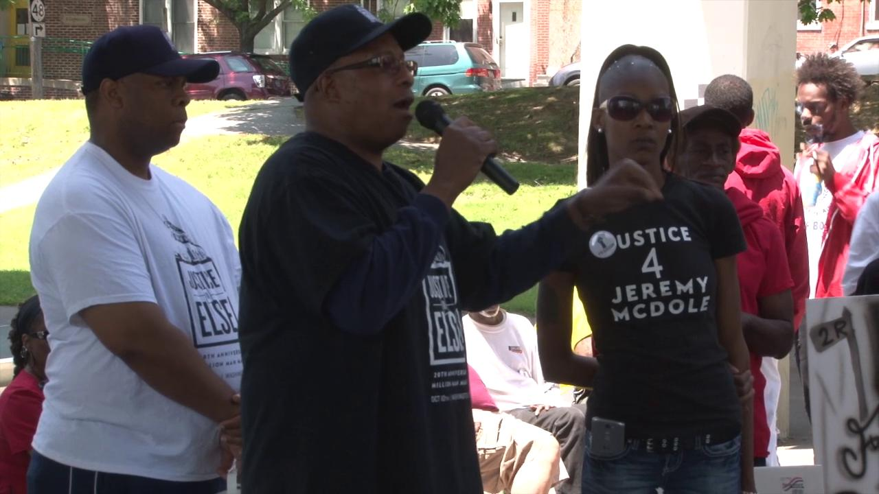 McDole family, friends rally in search for justice