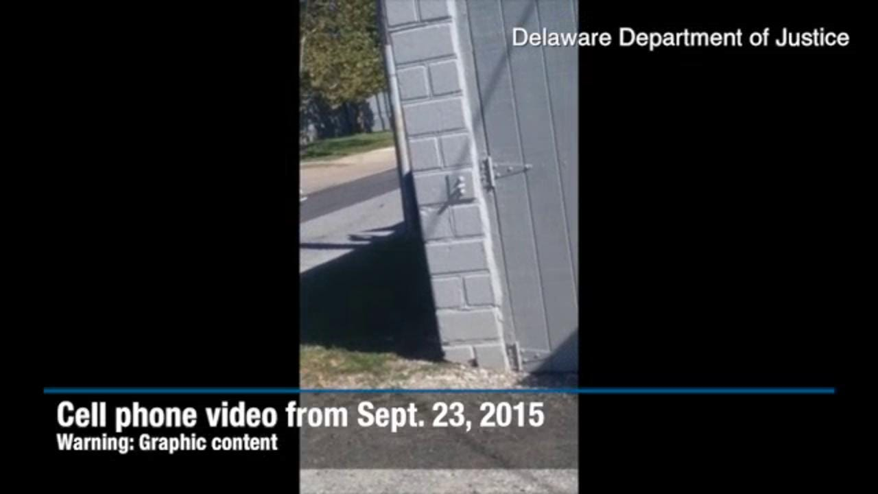 Cell phone video of McDole shooting