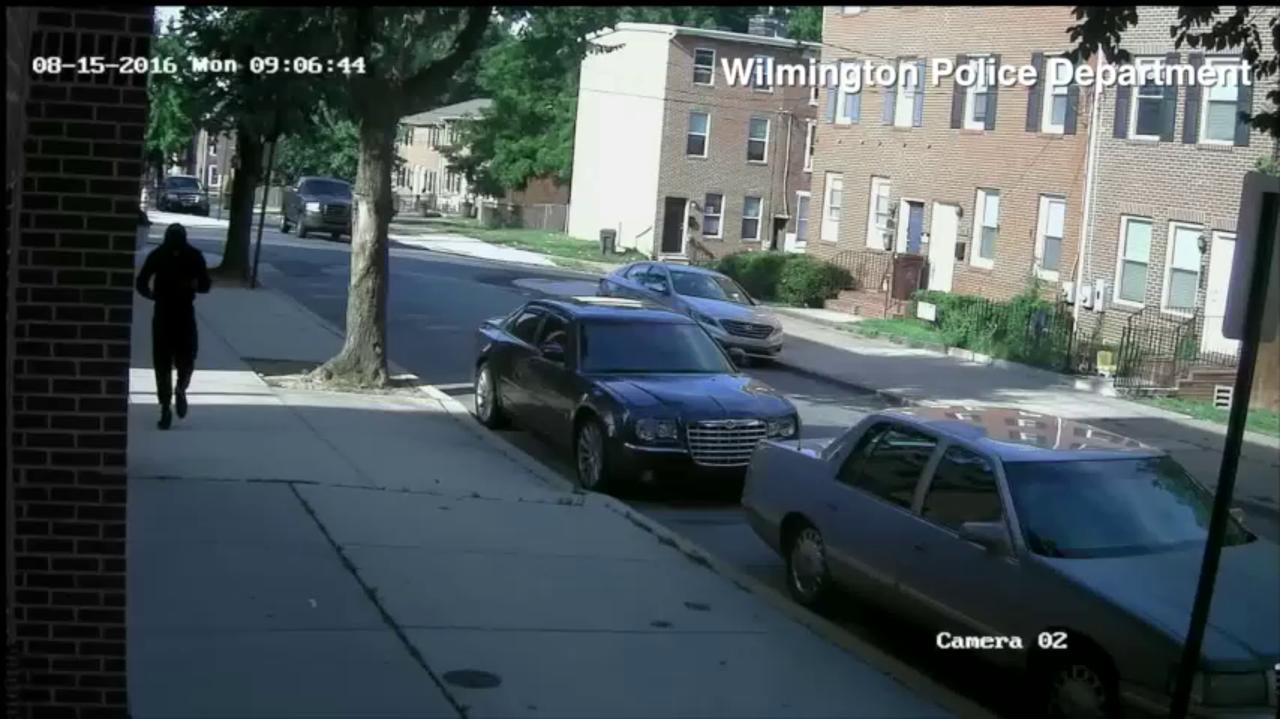 Wilmington police release footage of shooting suspect