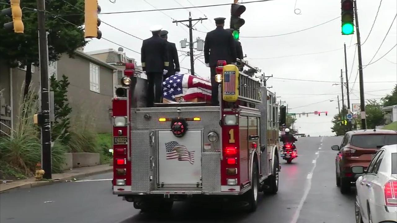 Funeral services today for fallen Wilmington firefighters