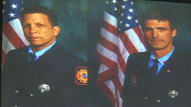 Services announced for fallen Wilmington firefighters