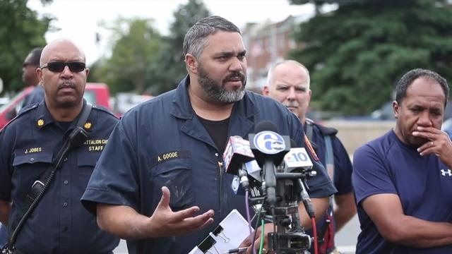 Fire chief provides update on loss of two Wilmington firefighters Saturday