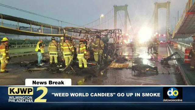KJWP NewsBreak: Vehicle fire affects bridge traffic