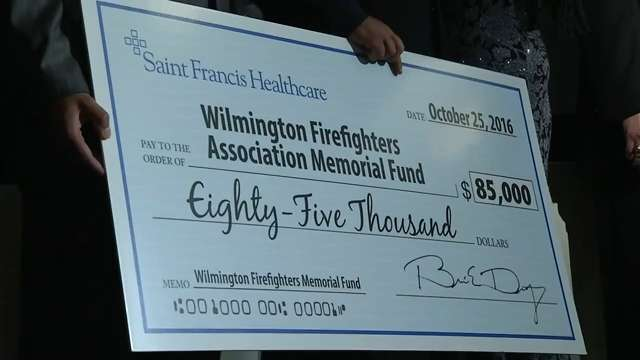 $85,000 raised to benefit fallen Wilmington firefighters