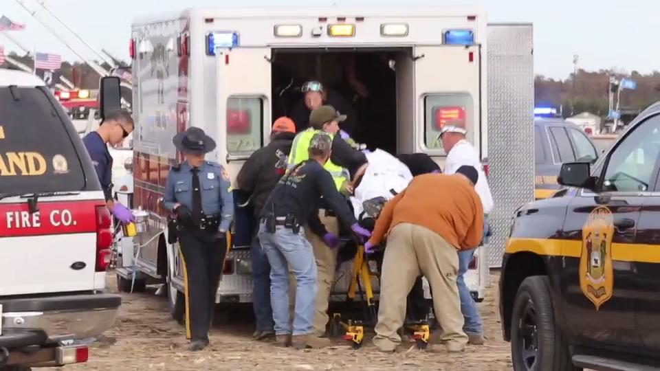 Woman critically injured at Punkin Chunkin