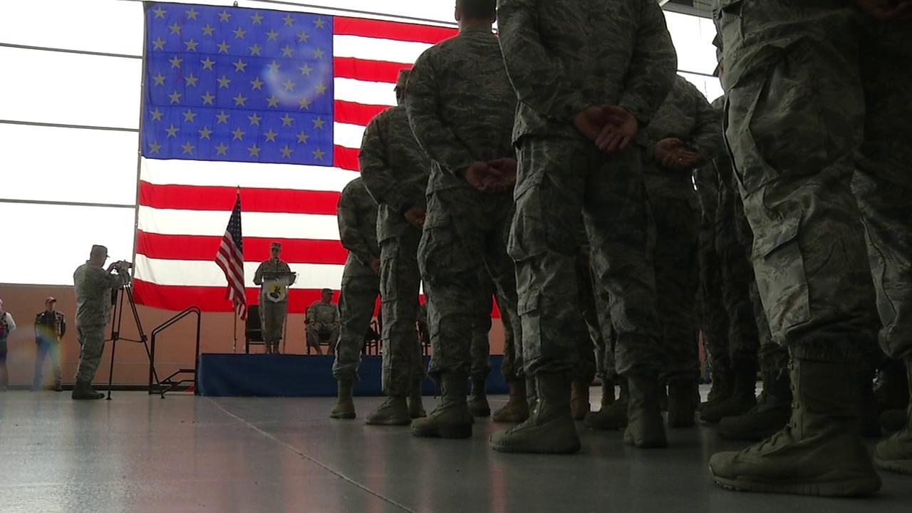 Ceremony marks return of Delaware airmen