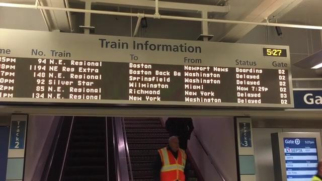 Pedestrian killed, trains delayed on Thanksgiving eve