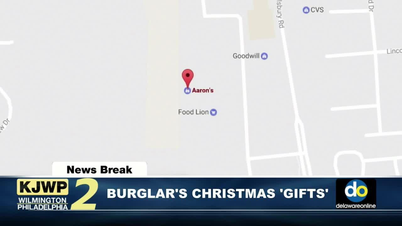 NewsBreak: Christmas robbers steal TVs