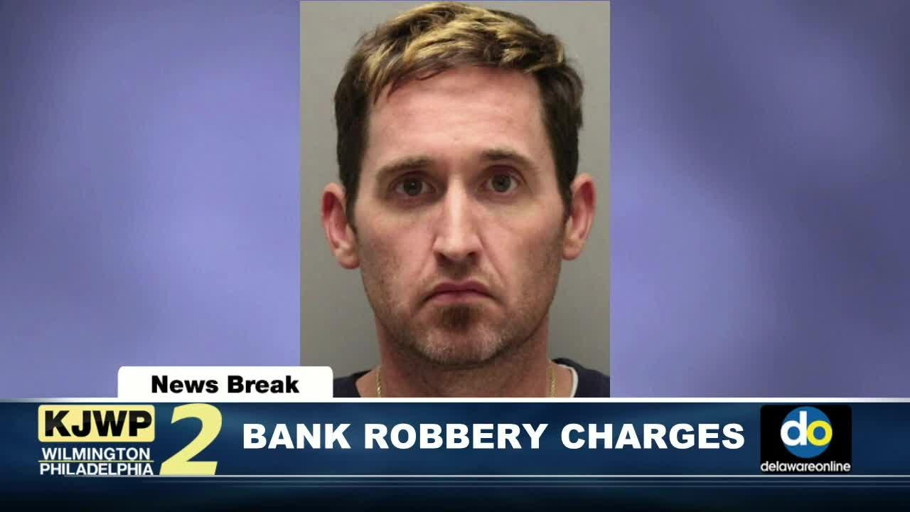 NewsBreak: Wilmington man charged in bank robbery