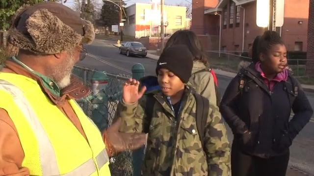 Wilmington man continues to volunteer time as crossing guard